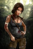 Dirty Lara by skribbliX