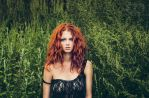 Debby, green wall by Dapicture