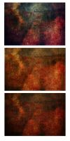 Abstract Flower Texture Trio by spicorder-stock