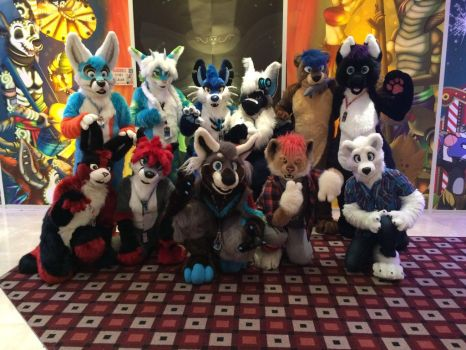 - Confuzzled '16 Group Shot - by notveryathletic