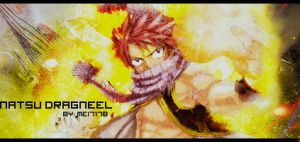 Natsu Dragneel Signature by mei7178