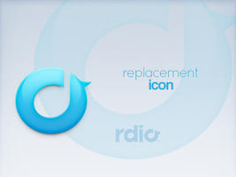Rdio Replacement Icon by luisperu9