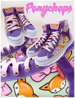Foxy Hi Tops by ponychops