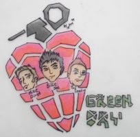 Green Day grenade by lytre98