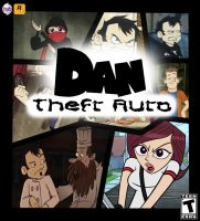 Dan Theft Auto by Pizzaface4372