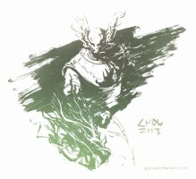 Nasus, the Curator of the Sands (June 5th, 2013) by Alex-Chow