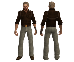 Mesh Mod: Chris Adventurer by drakl0r