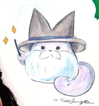 Wizard-Cat by ShadowPuppetteer