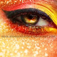 Glitter burn by EliseEnchanted