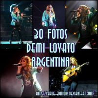 DEMI LOVATO ARGENTINA by Vaale-Editions