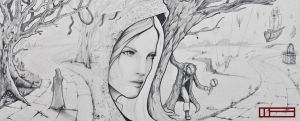 Fable of the Traveling Girl by GraphiteVision