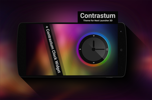 Next Launcher Theme Contrastum by Karsakoff