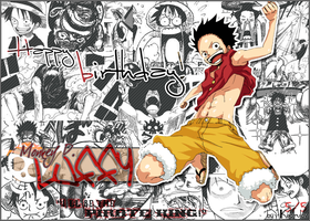 OP - Happy birthday Luffy by Kaorulov