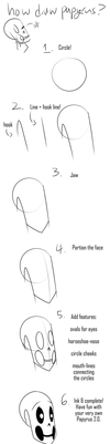 10 Minute Tutorial - Papyrus Face (Beginner Level) by Tyl95