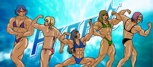 Free! Rule 63 - BUFF VERSION by Hime-Takamura