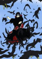 flock of crows Itachi by Zeke-Asakura