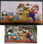 GameStoreWindow Super Mario by Imaranx
