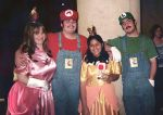 Mario family portrait by MaryRyanBogard