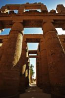 Karnak Temple, Egypt by fourthwall