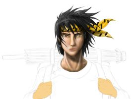 Ryoga work in progress by Max-Dragon