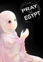 Pray for Egypt by ainosora