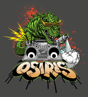 DINO DESIGN OSIRIS SHOES by BROWN73