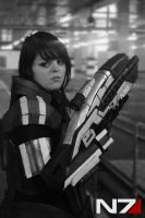 Commander Shepard by Colzy-Chan