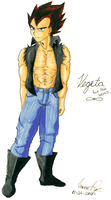 Vegeta: For The Ladies by oneofthefallen