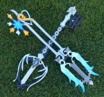Keyblades: Oathkeeper and Oblivion by VFire