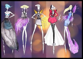 Disney Villains Fashion I by CdCblanc