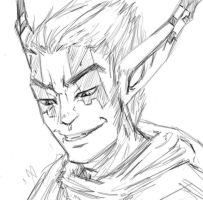 Erol - Smirk by 9ofcups