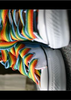 chucks and rainbows by openspaces
