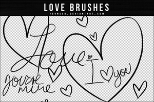 LOVE BRUSHES by Yeonseb