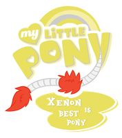 MLP Commission - Xenon Is Bestpony by MLPBlueRay