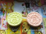 Pastel Yellow and Pink Oreos by UnicornCharms