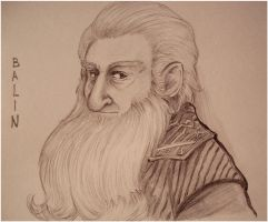 The Hobbit - Balin by Naivara
