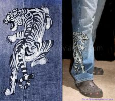 Asian Tiger by denimtattoos