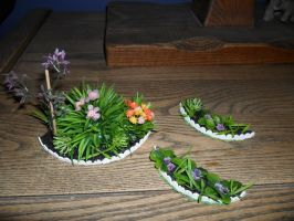 Miniature Flower Beds DONE by kayanah