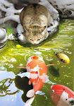 cat and fish by daydream-m