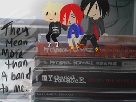 they mean more than a band to me.. by chibi-badtz-bad-maru