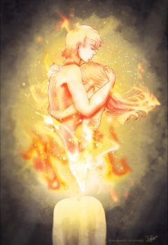 Together we Burn by Saviroosje