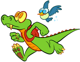 Croc by CrazyRatty