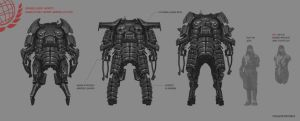 Advanced Infantry sketches 2 by Spex84