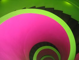 stairway color 2 by Mihraystock