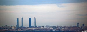 Skyline Madrid by 2Beita3