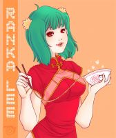 Ranka Lee - nyan nyan by nermallion