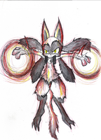 Primal lucario by metamorro