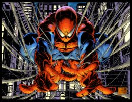 Avenging Spider-man #1 by Creation-Matrix