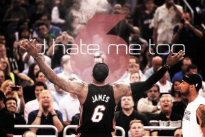 Lebron James by mctate