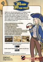 Pirate Princess Info Sheet by dinkydivas